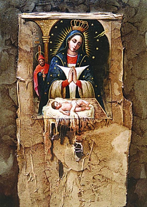 Nuestra Señora de la Altagracia, 40x30 pulgs, Dustin Muñoz, 1998