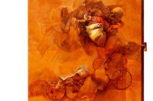 Señales de inseguridad I, 118 x93 pulgs, Dustin Muñoz, 2015