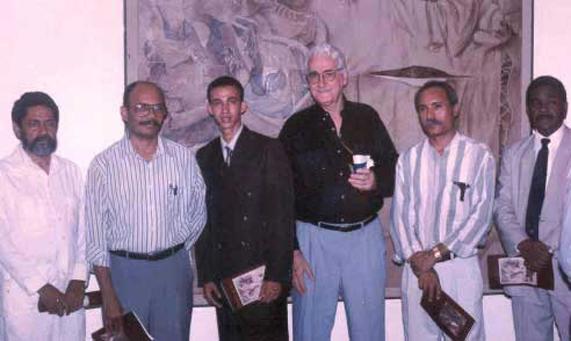 Domingo Liz, Amable Sterling, Dustin Muñoz, Gonzalo Briones, Ciprián Mordan, Martín Santos