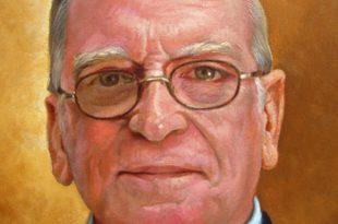 Detalle retrato José Luis Sáez, 40x30 pulgs, Dustin Muñoz, 2011
