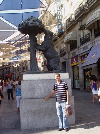 Dustin Muñoz en Madrid