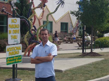Dustin Muñoz en Pensylvania, NY, EEUU, 2008