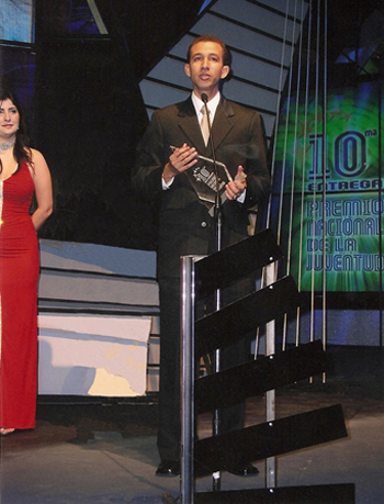 Dustin Muñoz recibe Premio Nacional de la Juventud, Secretaría de Estado de la Juventud