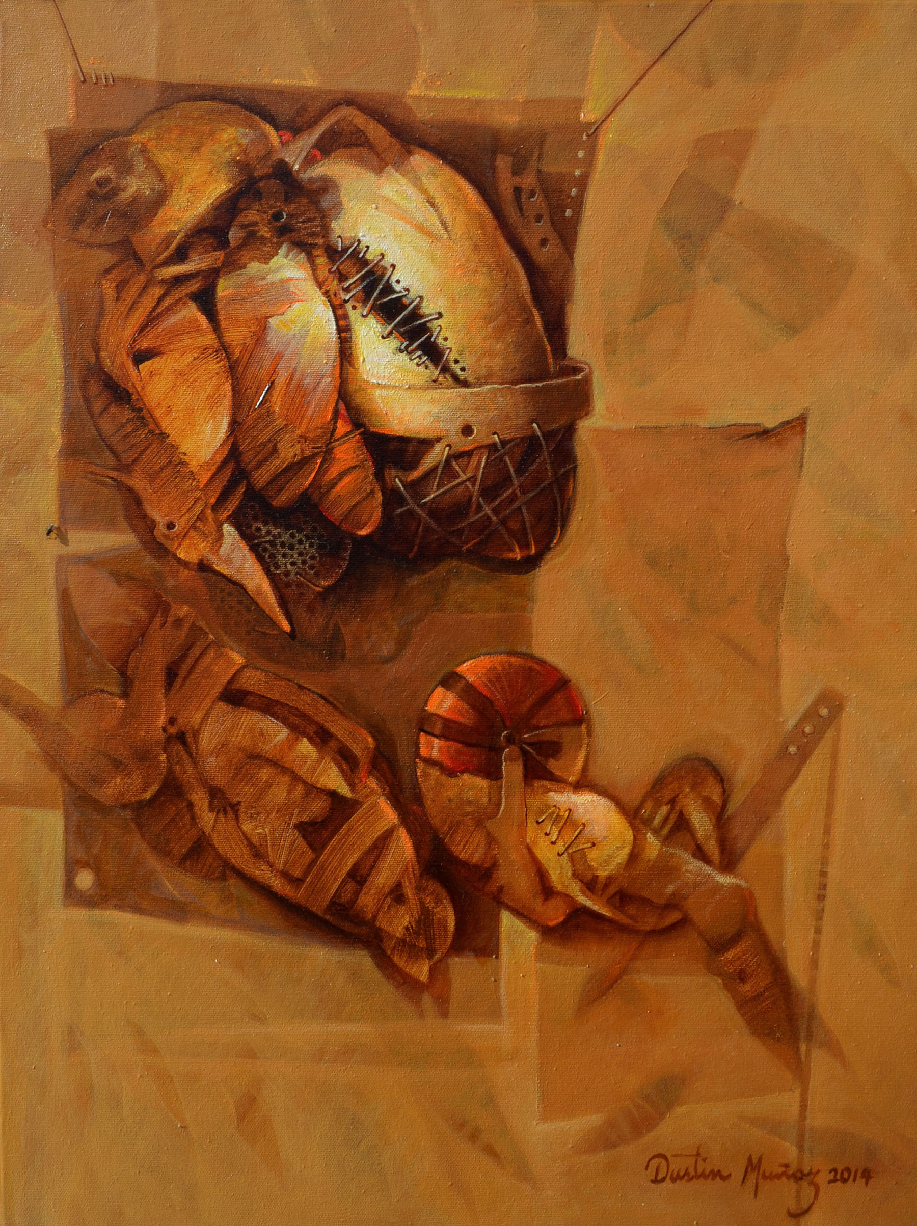 El pescador, 24x20 pulgs, Dustin Muñoz, 2014