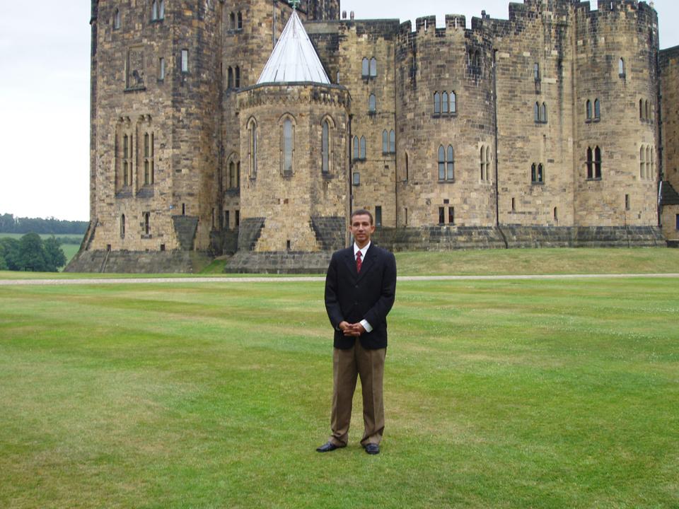 Dustin Muñoz en Inglaterra, 2006