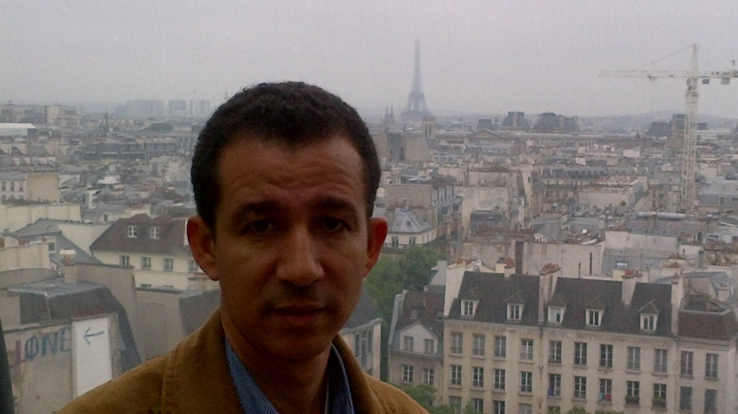 Vista panorámica de París, Francia