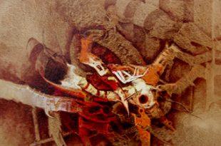 La metamorfosis, 30x24 pulgs, Dustin Muñoz, 2003