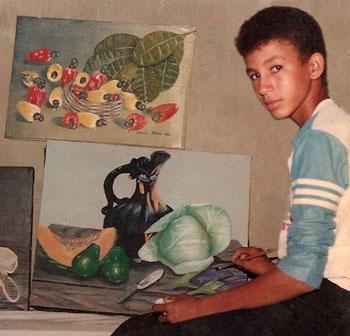 Mi taller a los 13 años, Dustin Muñoz