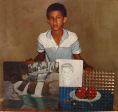 Mis pinturas a los 10 años, Dustin Muñoz