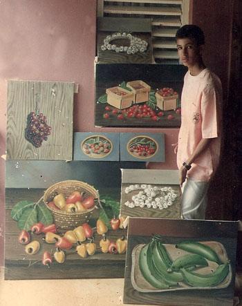 Mis pinturas a los 15 años, Dustin Muñoz