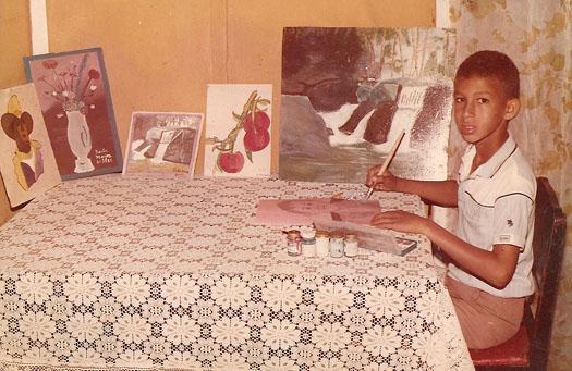 Mis pinturas a los 9 años, Dustin Muñoz