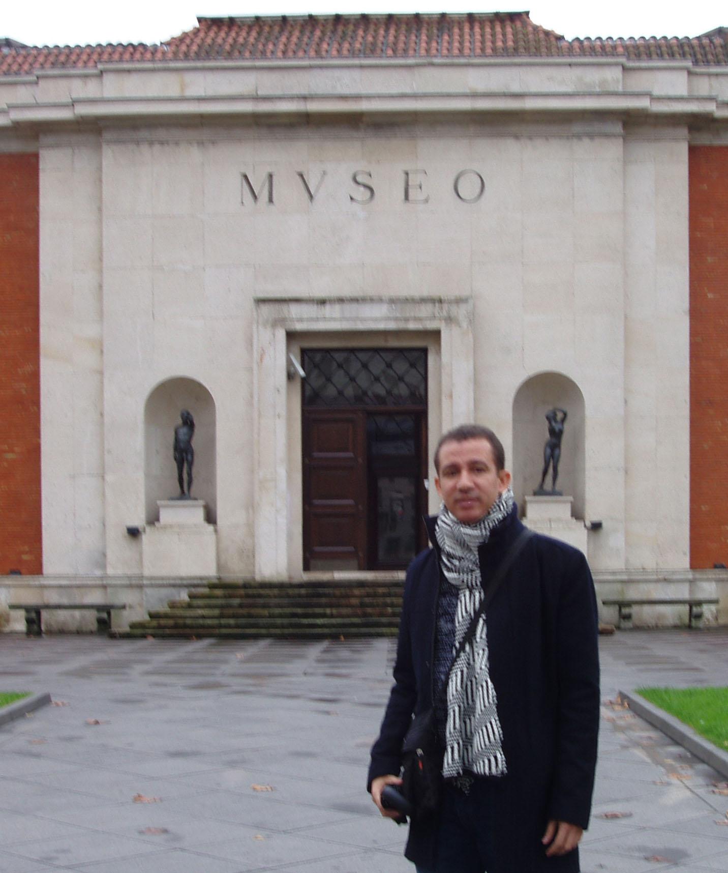 En el Museo de Bellas Artes Bilbao, España