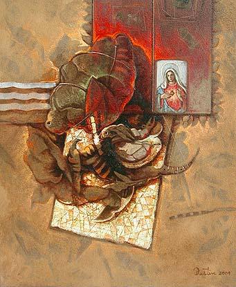 Peticiones, 24x20 pulgs, Dustin Muñoz, 2004