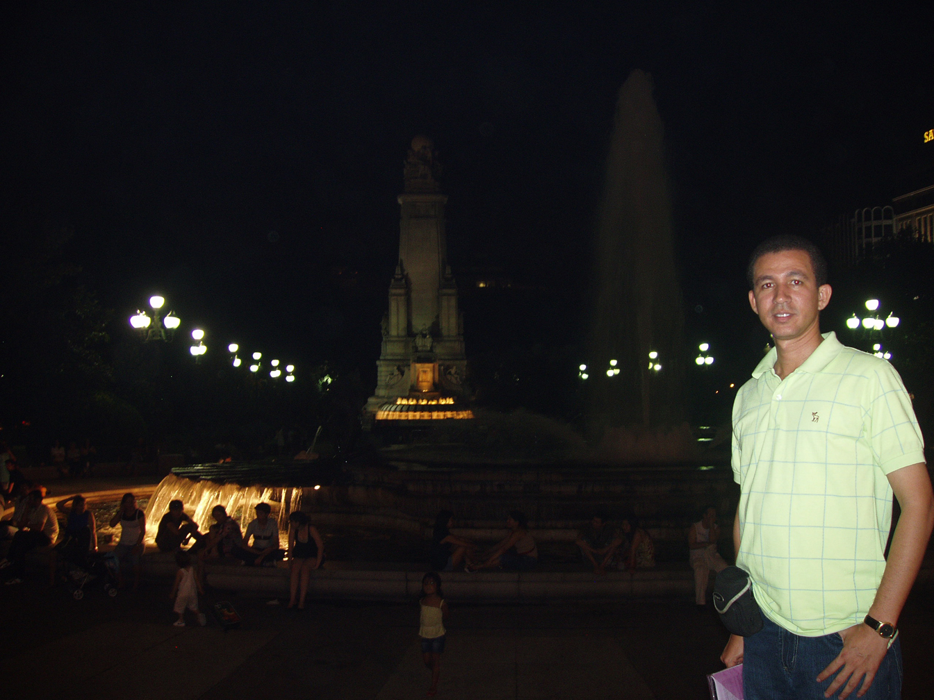 En la Plaza España, Madrid