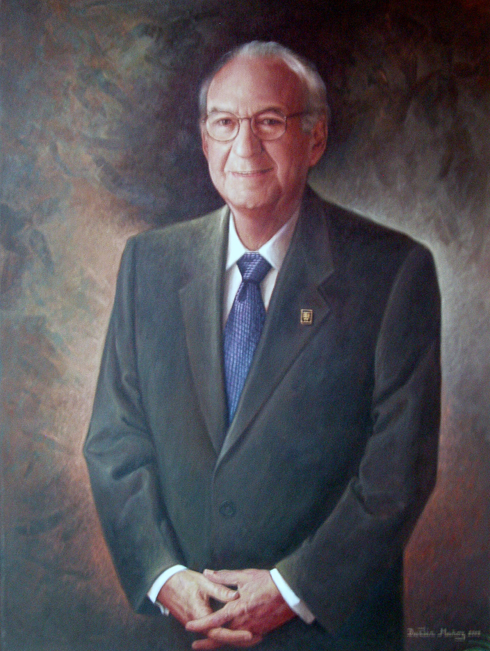 Retrato Sr Antoni Haché, Dustin Muñoz, 2003, Galería Expresidentes Grupo BHD