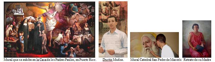 Dustin Muñoz, sus murales y procesos de ejecución