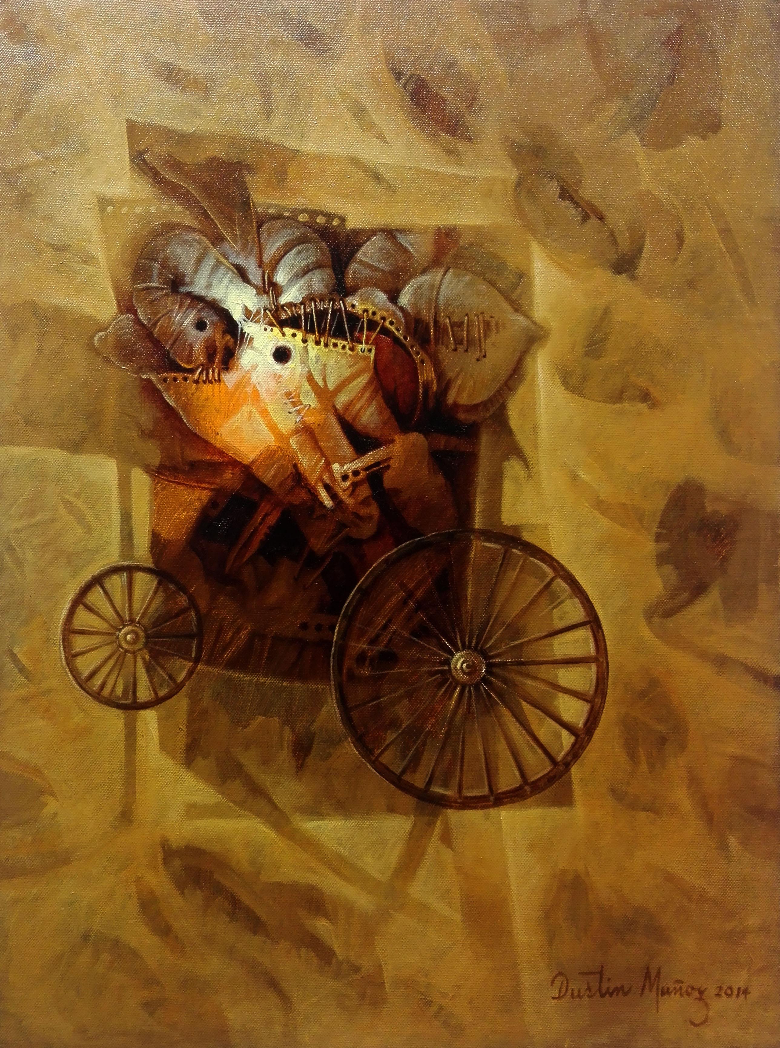Baúl de recuerdos, 61x45.5 cms, 2014, Dustin Muñoz