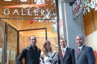 José Pelletier, Montse Bosch, Dustin Muñoz y Miguel Valenzuela en BCM Gallery, 2014