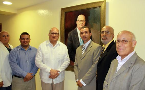 Angel Ruiz, Leonardo Díaz, Enerio Rodríguez, Dustin Muñoz, Frank Acosta y Carlos Hernández