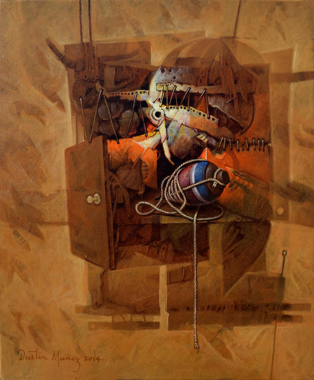 Caja de recuerdos, 24x20 pulgs, Dustin Muñoz