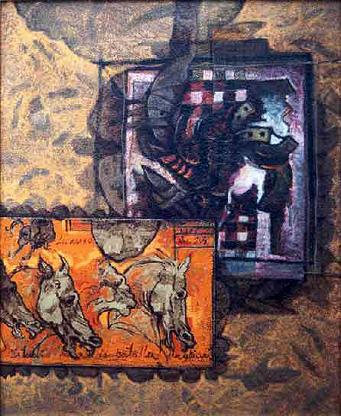 Cosas de Leonardo I, 20x16 pulgs, Dustin Muñoz, 2001
