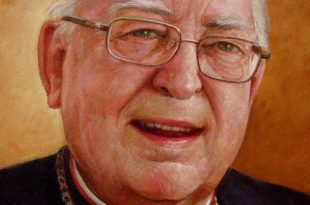 Detalle retrato Monseñor Arnaiz, 40x30 pulgs, 2011
