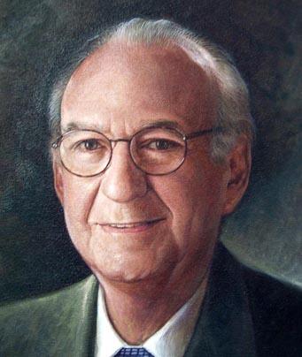 Detalle retrato Sr Antoni Haché, Dustin Muñoz, 2003, Galería Expdts Grupo BHD