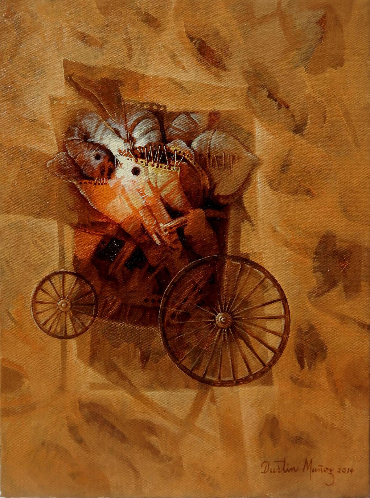 Baúl de recuerdos, 24x18 pulgs, Dustin Muñoz, 2014