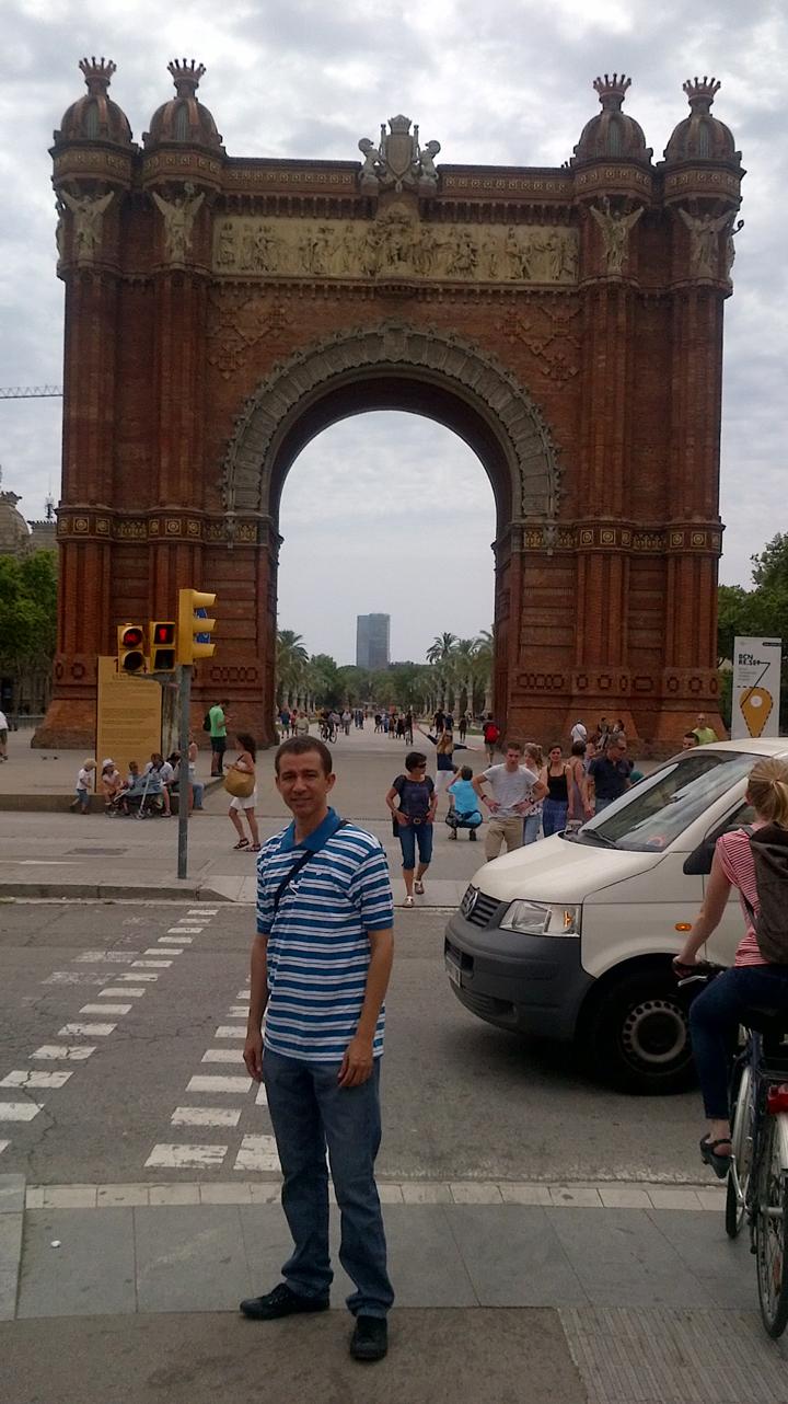 Dustin en Barcelona