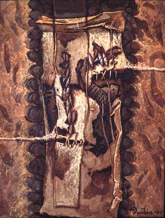 En reposo, 16x12 pulgs, Dustin Muñoz, 2001