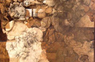 Las formas de las formas, 60x50 pulgs, Dustin Muñoz,1996
