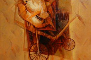 Obra expuesta en colectiva Nuestra Expo, Dustin Muñoz