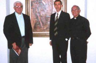 Padre Gregorio Alegría, Dustin Muñoz y el Padre Jaime Vergara