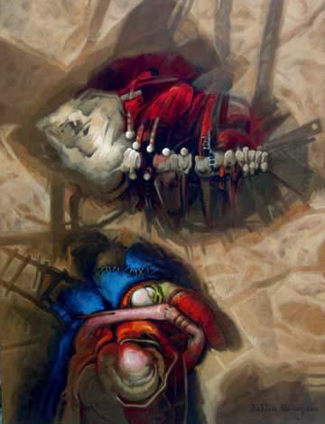 Permanencia, 40x30 pulgs, Dustin Muñoz, 2010