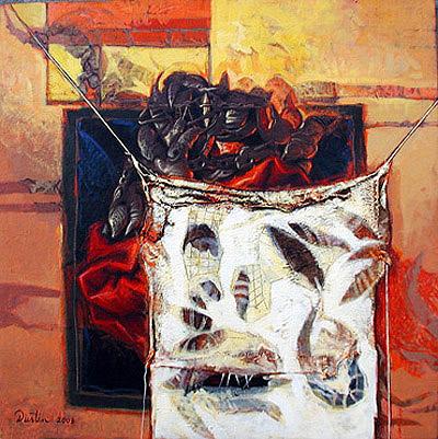 Presentación, 24x24 pulgs, Dustin Muñoz, 2003