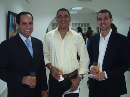 Rafael Osorio, Silvio Ávila y Dustin Muñoz