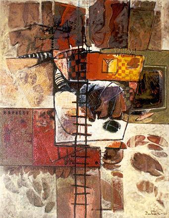 Recuerdos de Guadalupe I, 40x30 pulgs, Dustin Muñoz