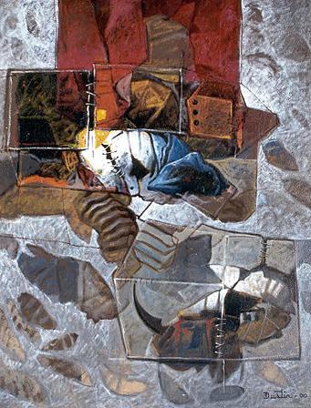 Recuerdos de Guadalupe II, 40x30 pulgs, Dustin Muñoz