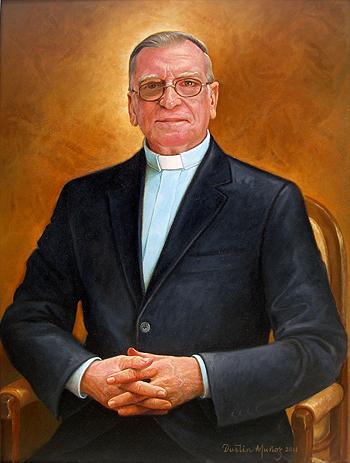 Retrato José Luis Sáez, 40x30 pulgs, Dustin Muñoz, 2011