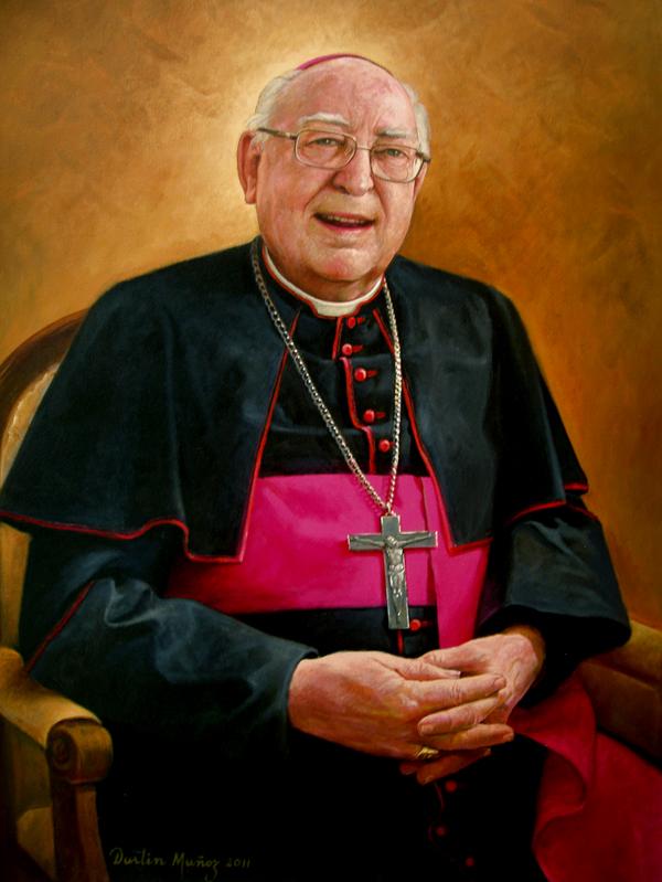 Retrato Monseñor Arnaiz, 40x30 pulgs, 2011